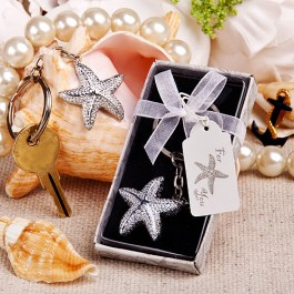 6578 Brilliant starfish key chain