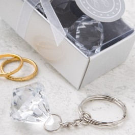 8145  Clear Diamond  Collection Diamond  Design Key Chain