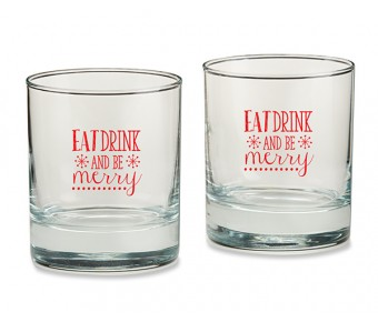 30040NA-WD Personalized Tall Shot Glass - Wedding