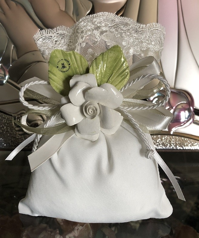 Af601 Italian Pouch Wedding Favor Bomboniere With Capodimonte Flower Macrame Collection Italian Confetti Flowers Online Italian Favors Shop In Usa Myitalianfavors Com,Data Entry Jobs Online From Home Without Investment