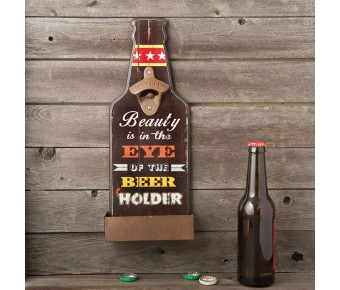 12182 Beauty is in the eyes of the beer holder - bottle opener