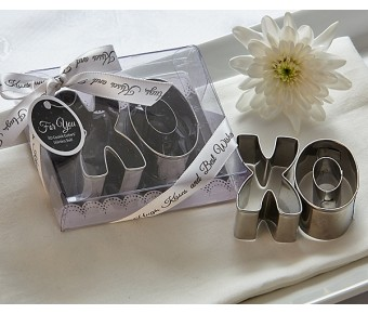 "A73005 ""XO"" Best Wishes Cookie Cutter Set"