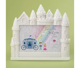 12888 Castle 4 x 6 frame from gifts by fashioncraft