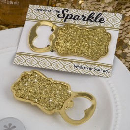 8859 Golden elegance collection gold bottle opener from fashioncraft