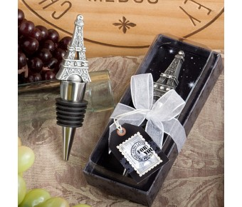 1937 <em>From Paris With Love Collection</em> Eiffel Tower Wine Bottle Stopper  Favors