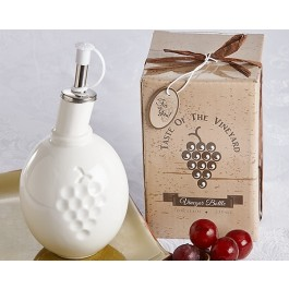 "A93026 ""Taste of the Vineyard"" Vinegar Bottle in Gift Box"