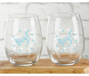 30022NA-PTY Personalized 16 oz. Pint Glass - Party Time