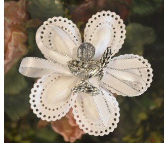CF710 Communion Confetti flower favors with chalice pin