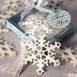 6472 Snowflake Bookmark Favors