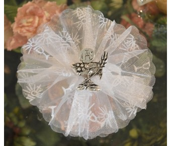 AF740 Communion almond favors with chalice pin