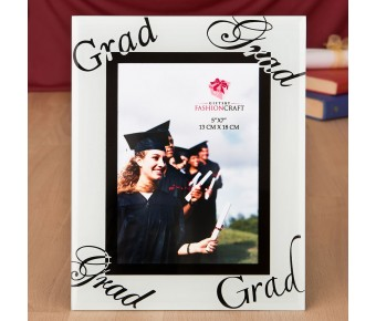 12228 fabulous 5 x 7 graduation glass picture frame from fashioncraft
