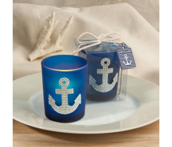 5469 Spectacular anchor design candle favors
