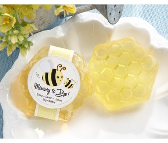 "21049NA ""Mommy To Bee"" Honey-Scented Honeycomb Soap"