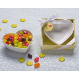 "A93047 ""Sweet Treats"" Heart Shaped Candy Bowl Trinket Dish"