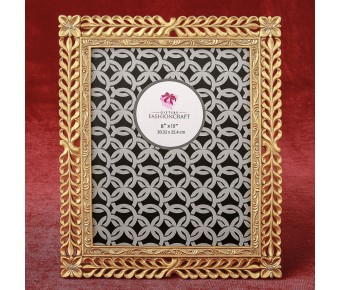 12879 Magnificent Gold Lattice 8 x 10 frame from gifts by fashioncraft
