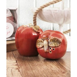 "RB1154 ""Apple Orchard"" Salt & Pepper Shakers"