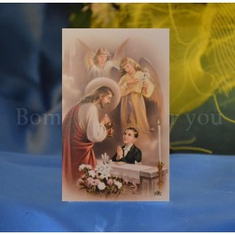 FCR326B Personalized First Communion Remembrance Card