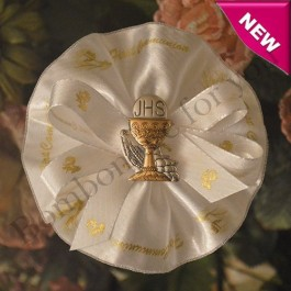 CF125 First Communion Confetti Flower with Argento Chalice