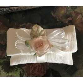 HC160 Haute Couture Envelope Wedding favors Bomboniere with Craft Flower