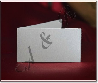 M357W White Italian Wedding Favor Tag Bigliettino