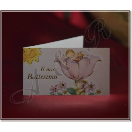 B027 Favor tags Bigliettini for Baptism or Battesimo Christening