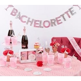 00120NA Let's Party 74 Piece Bachelorette Party Kit