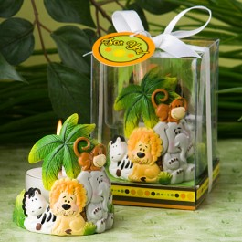 8194 Jungle Critters Collection Candle Favors