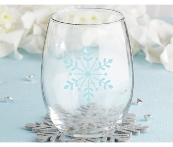 30023NA-NY Happy New Year! 15 oz. Stemless Wine Glass (Set of 4)