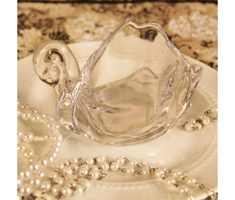 "RB7949 ""Crystal Swan"" Swan Shaped Trinket"