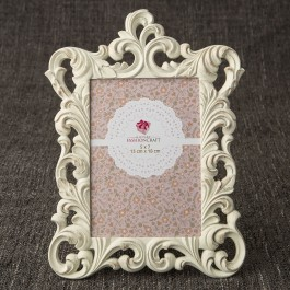 12868 Opulent Brushed Gold Baroque 5 x 7 frame from gifts by fashioncraft