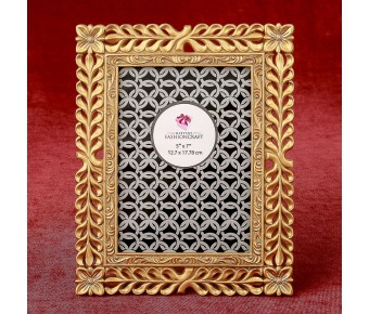 12878 Magnificent Gold Lattice 5 x 7 frame from gifts by fashioncraft