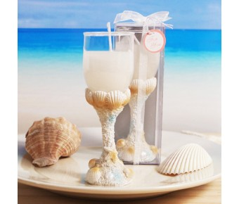"RB1249 ""Treasures of the Sea"" Seaside Toast Candle"