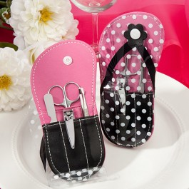 5956 Flip Flop design Manicure Sets