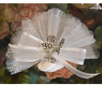 AF720 Communion almond favors with chalice pin
