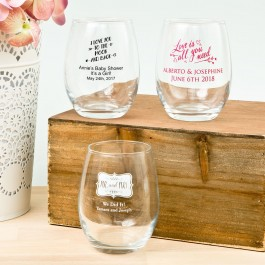 3421S_Expressions Expressions Collection 9oz Stemless Wine Glasses