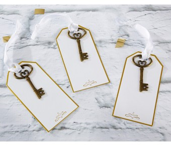 11298NA Gold Key Escort Card (Set of 12)