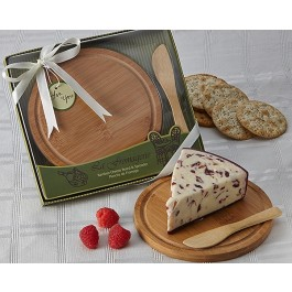 "A35000 ""La Fromagerie"" Cheese Board & Spreader"