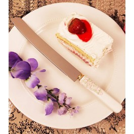 "RB6982 ""Floral Flourish"" Floral Cake Knife"