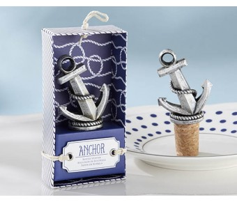 "25169NA ""Nautical"" Anchor Bottle Stopper"