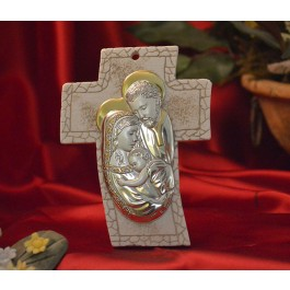 RL4500 Holy Family Standing Cross Made in Italy