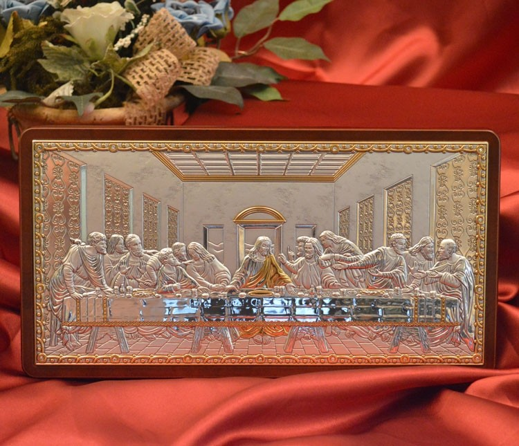 RL5600 Last Supper | Creazioni RL Argenti Made in Italy Gifts ...