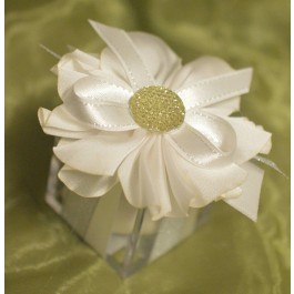 PB15 Favor box with craft Flower wedding favor