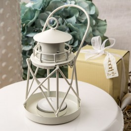 4190 Lighthouse Luminous metal  lantern from fashioncraft