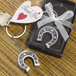 6447 Horseshoe Key Chain Favors