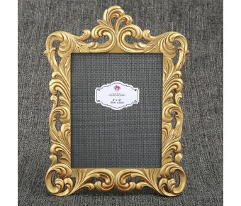12880 Baroque Gold openwork 8 x 10 frame from gifts by fashioncraft